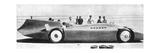 Sir Malcom Campbell (1885-194) in Bluebird, Daytona Beach, Florida, 7th March 1935 193) Giclée-tryk