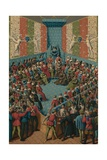 Verdict on John II of Alencon, 15th Century Giclee Print by Jean Fouquet