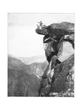 Glacier Point, Yosemite Valley, California, USA, Late 19th Century Giclee Print by John L Stoddard