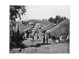 Village Near Calcutta, India, Late 19th Century Giclee Print by John L Stoddard