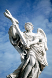 Angel Carrying a Cross, from the Ponte St Angelo, Rome, Italy, 1669 Photographic Print by Gian Lorenzo Bernini