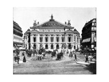 Grand Opera House, Paris, Late 19th Century Giclee Print by John L Stoddard