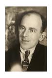 Osip Mandelstam, Russian Poet, Late 1920S Giclee Print by Moisei Solomonovich Nappelbaum