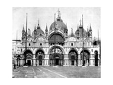 St Mark'S, Venice, Italy, 1893 Giclee Print by John L Stoddard
