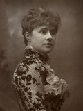 Alice Lingard, British Actress and Singer, 1884 Photographic Print by Herbert Rose Barraud