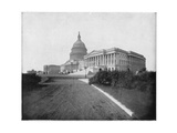 The Capitol, Washington DC, Late 19th Century Giclee Print by John L Stoddard