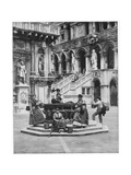 Courtyard of the Ducal Palace, Venice, Late 19th Century Giclee Print by John L Stoddard