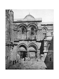 The Church of the Holy Sepulchre, Jerusalem, Late 19th Century Giclee Print by John L Stoddard