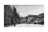 Street in Cherbourg, France, C1930S Giclee Print by EA Waymark