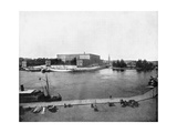 Royal Palace, Stockholm, Sweden, 1893 Giclee Print by John L Stoddard
