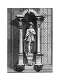 The Statue of Edward VI, from the Front of the Guildhall Chapel, City of London, 1886 Giclee Print by William Griggs