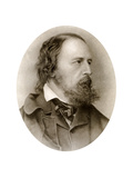 Alfred, Lord Tennyson, English Poet Giclee Print by M Arnault