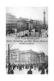 Before and After, Anti-English Irish Uprising, Dublin, May 1916 Giclee Print
