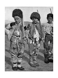 Boys from Artemid, Armenia, 1922 Giclee Print by Maynard Owen Williams