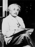 Albert Einstein, German-Swiss-American Mathematician and Physicist, 20th Century Photographic Print