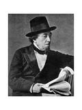 Benjamin Disraeli, British Statesman, 19th Century Giclee Print