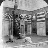 The Prayer-Niche and Pulpit in the Tomb Mosque of Kait Bey, Cairo, Egypt, 1905 Photographic Print