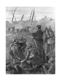 A Chlorine Gas Attack, Second Battle of Ypres, Belgium, 1915 Giclee Print by Lucien Jonas