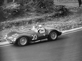 Roy Salvadori Driving a 1953 Maserati at Brands Hatch, Kent, 1954 Photographic Print