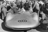 Bernd Rosemeyer and Ferdinand Porsche with Auto Union, C1937-C1938 Photographic Print