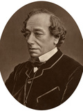 Benjamin Disraeli, Earl of Beaconsfield, Prime Minister, 1881 Photographic Print