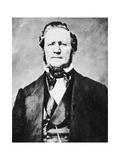 Brigham Young, American Mormon Leader, C1855-1865 Giclee Print