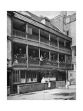 The 'George, 17th Century Inn, Southwark, London, 1926-1927 Giclee Print by  McLeish