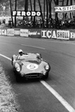 Aston Martin DBR1 in Action, Le Mans 24 Hours, France, 1959 Papier Photo par Maxwell Boyd