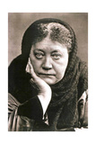 Helena Blavatsky, Russian Author and Founder of Theosophy, 1889 Giclee Print
