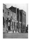 Papal Palace, Avignon, France, 1937 Giclee Print by Martin Hurlimann