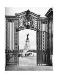 Wought-Iron Gates, Buckingham Palace, London, 1926-1927 Giclee Print by  McLeish