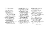 Queen Mary's Lament, Poem in the Handwriting of Robert Burns, Late 18th Century Giclee Print by Robert Burns