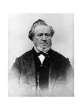 Brigham Young, American Mormon Leader, 19th Century Giclée-tryk
