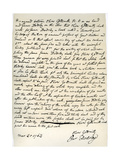 Agreement by Oliver Goldsmith to Write for James Dodsley, 31st March 1763 Giclee Print by Oliver Goldsmith