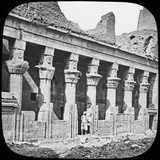 Colonnade of the Temple of Isis, Philae, Egypt, C1890 Photographic Print