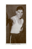 Johnny King, British Boxer, 1938 Giclee Print