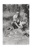 Chaplin Court Treatt's Leopard, Abercorn to Tukuyu, Tanganyika, 1925 Giclee Print by Thomas A Glover