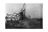 Zeppelin LZ4 after the Echterdingen Disaster, Germany, 1908 Giclee Print