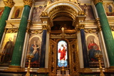 The Holy Doors and Iconostasis, St Isaac's Cathedral, St Petersburg, Russia, 2011 Photographic Print by Sheldon Marshall