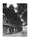 An Old Wooden House in Collingwood Street, London, 1926-1927 Giclee Print by  Whiffin