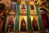 Iconostasis, St Isaac's Cathedral, St Petersburg, Russia, 2011 Photographic Print by Sheldon Marshall