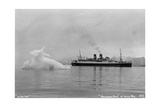 Blue Star Line's Cruise Ship Ss 'Arandora Star, Kongsfjorden, Spitzbegen, Norway, 1929 Giclee Print