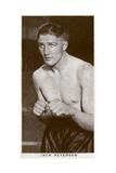 Jack Petersen, Welsh Boxer, 1938 Giclee Print