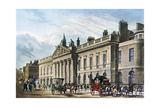 East India House, London, 1817 Giclee Print by Thomas Hosmer Shepherd