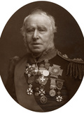 Admiral Sir Sydney Colpoys Dacres, Governor of Greenwich Hospital, 1883 Photographic Print by  Lock & Whitfield