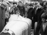 Achille Varzi in a Bugatti T51, Winner of the Monaco Grand Prix, 1933 Photographic Print