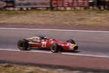 Jacky Ickx in a Ferrari, Spanish Grand Prix, Jarama, Madrid, 1968 Photographic Print