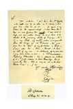 Letter from Thomas Chatterton to William Barrett, 1769 Giclee Print by Thomas Chatterton