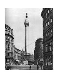 The Monument to the Great Fire, London, 1926-1927 Giclee Print by  McLeish