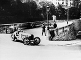 Achille Varzi and Tazio Nuvolari, Monaco Grand Prix, 1933 Photographic Print